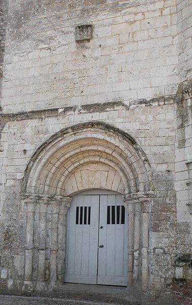 Photo du Monument Historique Ancienne église situé à Aubin-Saint-Vaast
