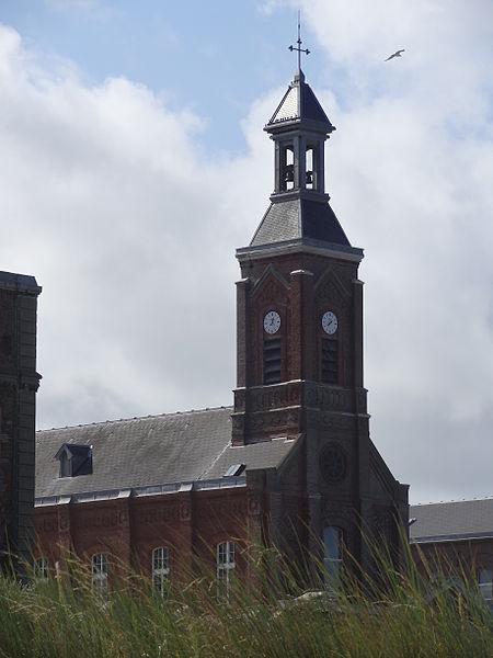 Photo du Monument Historique Ancien Hôpital Cazin-Perrochaud situé à Berck