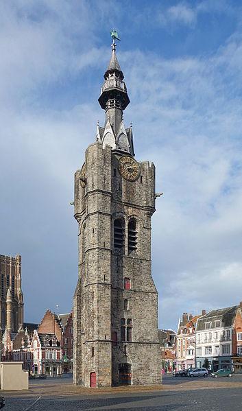 Photo du Monument Historique Beffroi situé à Béthune