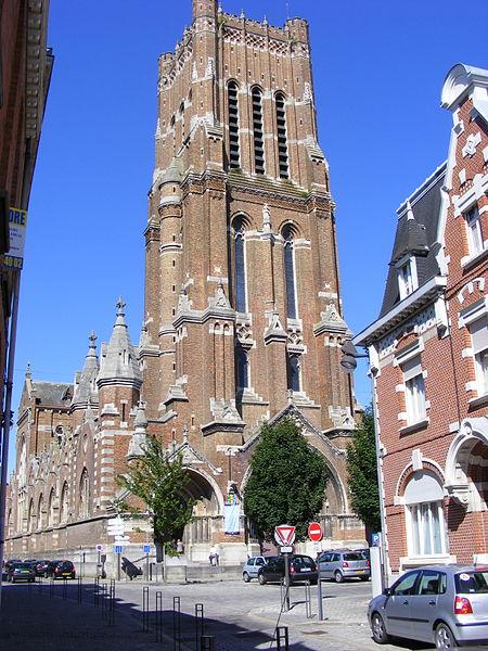 Photo du Monument Historique Ancienne église des Récollets situé à Béthune