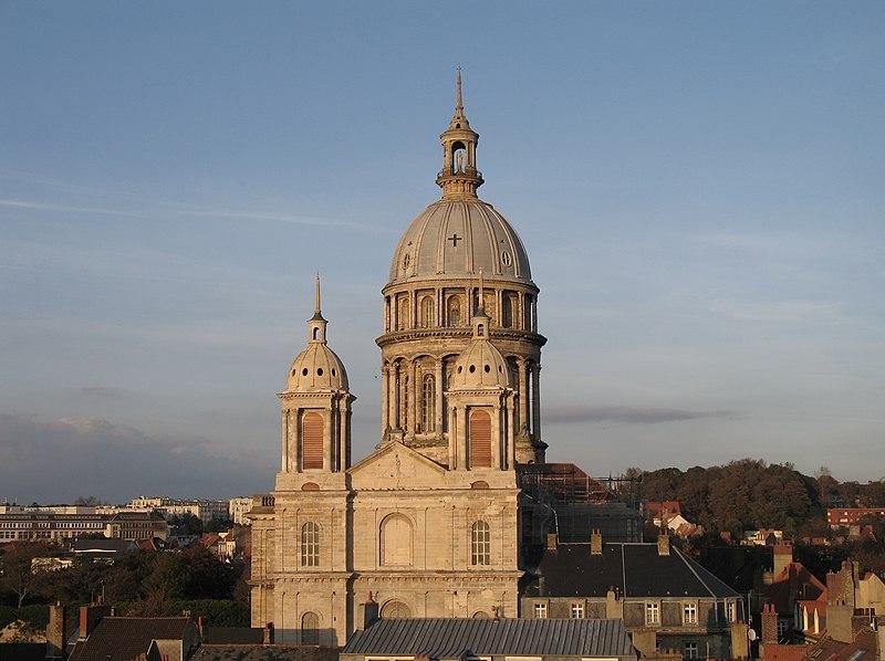 Photo du Monument Historique Ancienne cathédrale Notre-Dame situé à Boulogne-sur-Mer