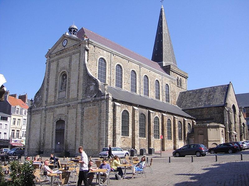 Photo du Monument Historique Eglise Saint-Nicolas situé à Boulogne-sur-Mer