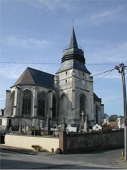 Photo du Monument Historique Eglise Saint-Pierre et Saint-Paul situé à Brimeux