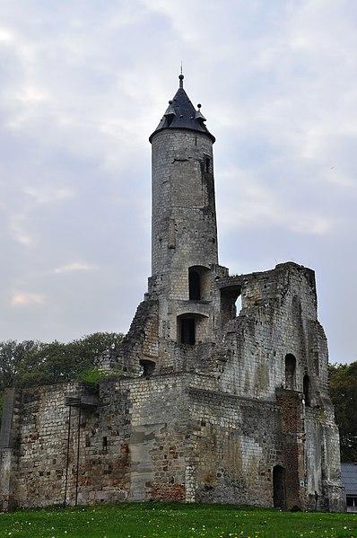 Photo du Monument Historique Château de la Buissière situé à Bruay-la-Buissière
