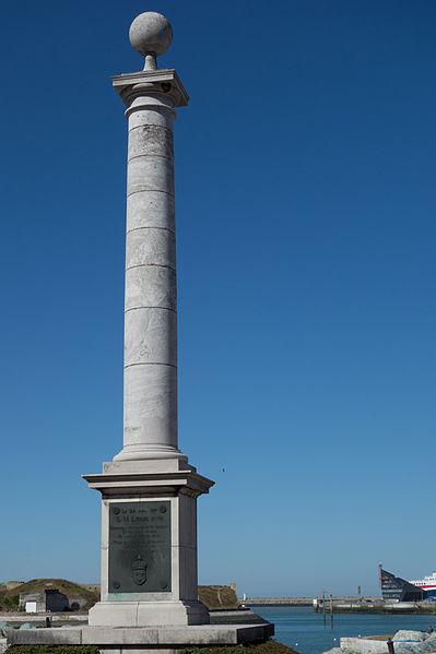 Photo du Monument Historique Colonne commémorative du débarquement de Louis XVIII à Calais situé à Calais