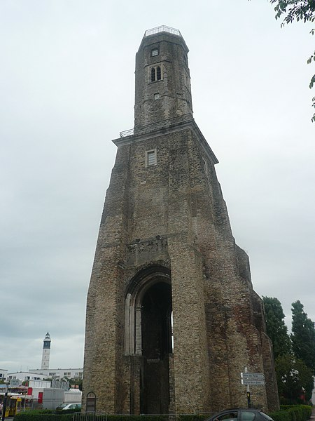 Photo du Monument Historique Tour du Guet situé à Calais