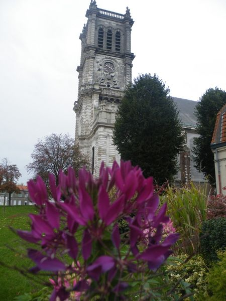Photo du Monument Historique Eglise Saint-Martin situé à Carvin