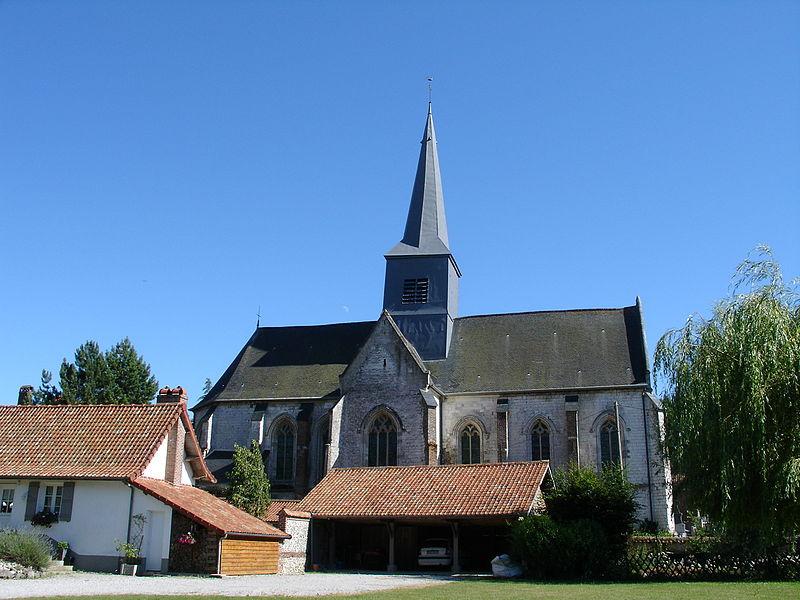 Photo du Monument Historique Eglise Saint-Gilles situé à Clenleu