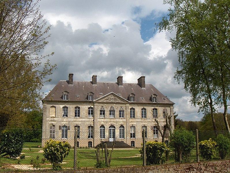 Photo du Monument Historique Château situé à Couin