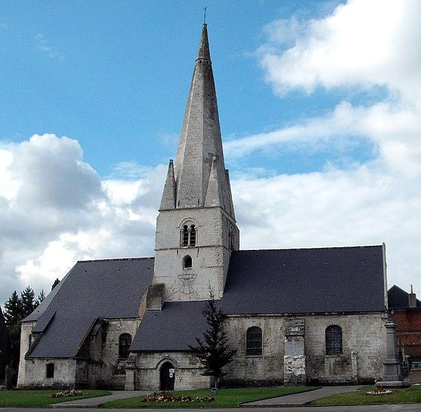 Photo du Monument Historique Eglise Saint-Martin situé à Esquerdes