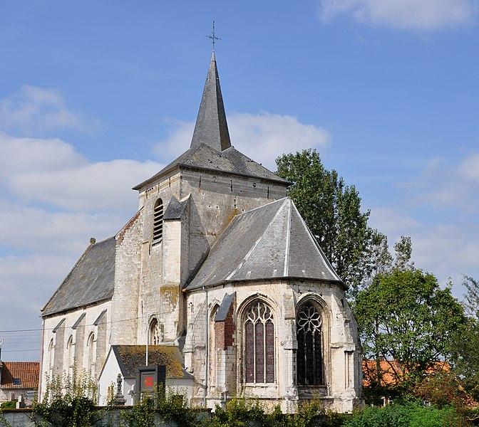 Photo du Monument Historique Eglise situé à Febvin-Palfart