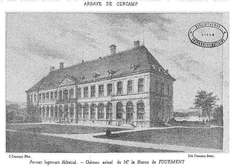 Photo du Monument Historique Ancienne abbaye de Cercamps situé à Frévent