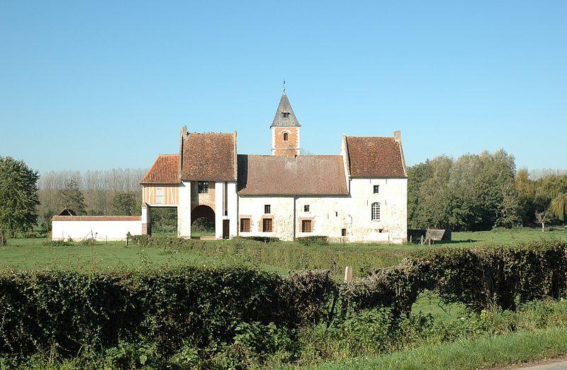 Photo du Monument Historique Manoir de Gennes situé à Gennes-Ivergny