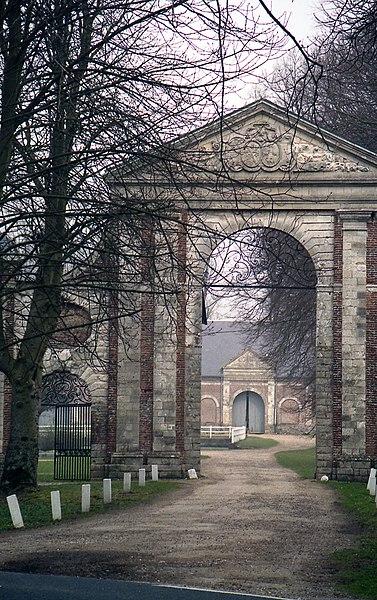 Photo du Monument Historique Abbaye de Saint-André-aux-Bois situé à Gouy-Saint-André