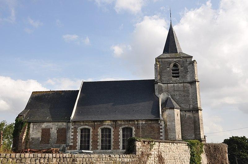 Photo du Monument Historique Eglise situé à Hesdigneul-lès-Béthune