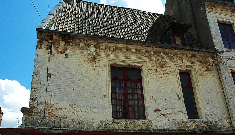 Photo du Monument Historique Abbaye de Saint-André-Aux-Bois situé à Hesdin