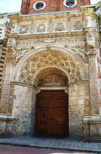 Photo du Monument Historique Eglise Notre-Dame situé à Hesdin