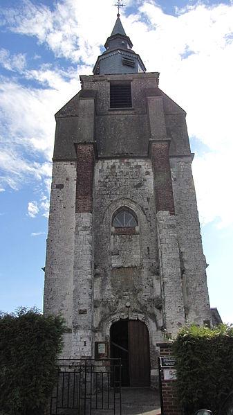 Photo du Monument Historique Eglise situé à Huby-Saint-Leu