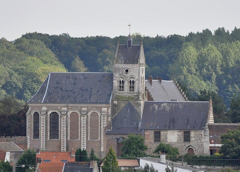 Photo du Monument Historique Eglise Sainte-Christine situé à Labeuvrière
