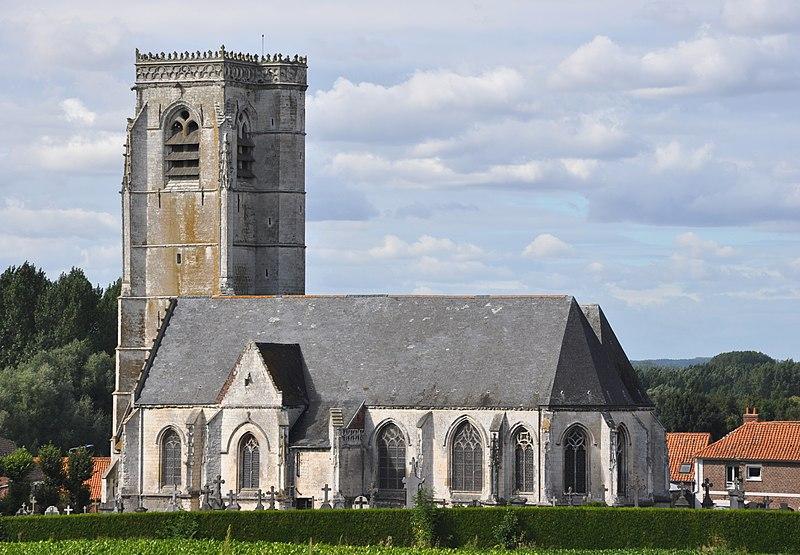 Photo du Monument Historique Eglise Saint-Lambert situé à Lambres