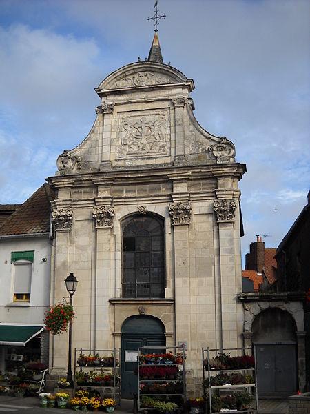 Photo du Monument Historique Chapelle de la Miséricorde situé à Lillers