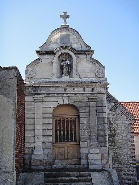 Photo du Monument Historique Chapelle de pélerinage Sainte-Bertille situé à Maroeuil