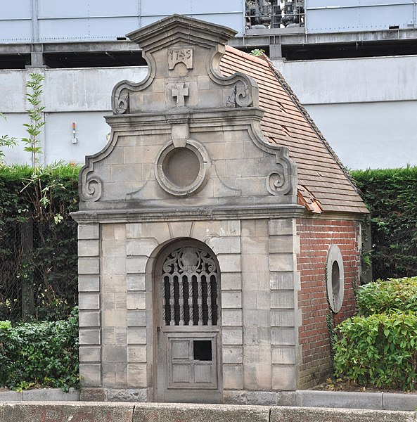 Photo du Monument Historique Chapelle Saint-Hubert situé à Mazingarbe
