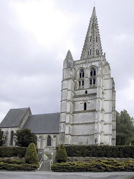 Photo du Monument Historique Eglise Saint-Omer situé à Merck-Saint-Liévin