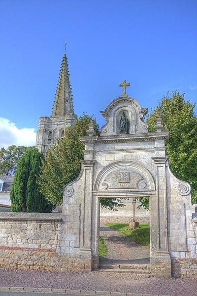 Photo du Monument Historique Cimetière situé à Mingoval
