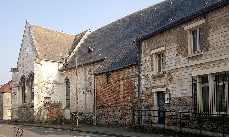 Photo du Monument Historique Ancienne église Saint-Wulphy situé à Montreuil