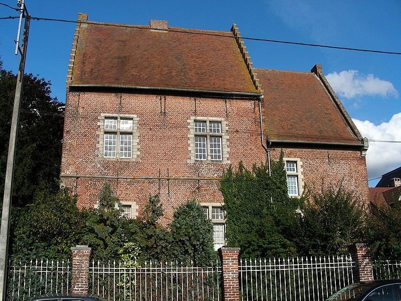 Photo du Monument Historique Maison dite de la prévoté situé à Sailly-sur-la-Lys