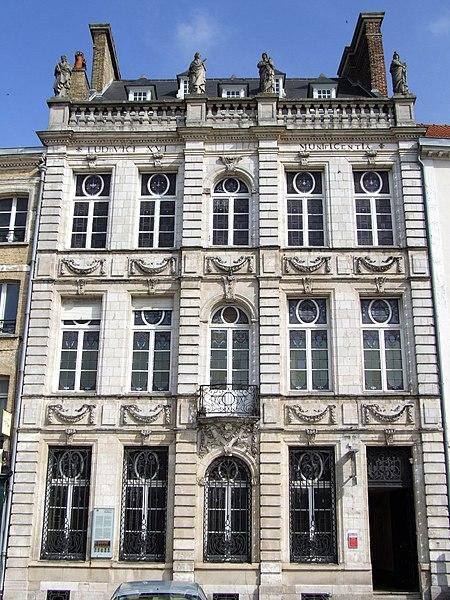 Photo du Monument Historique Ancien bailliage situé à Saint-Omer