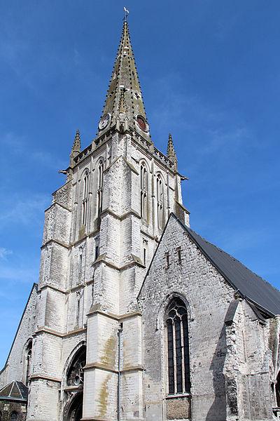 Photo du Monument Historique Eglise Saint-Sépulcre situé à Saint-Omer