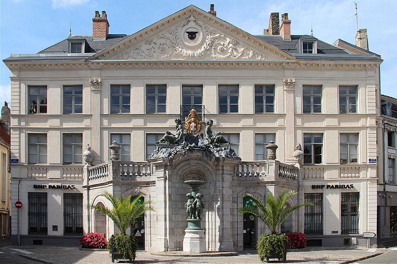 Photo du Monument Historique Fontaine Sainte-Aldegonde situé à Saint-Omer