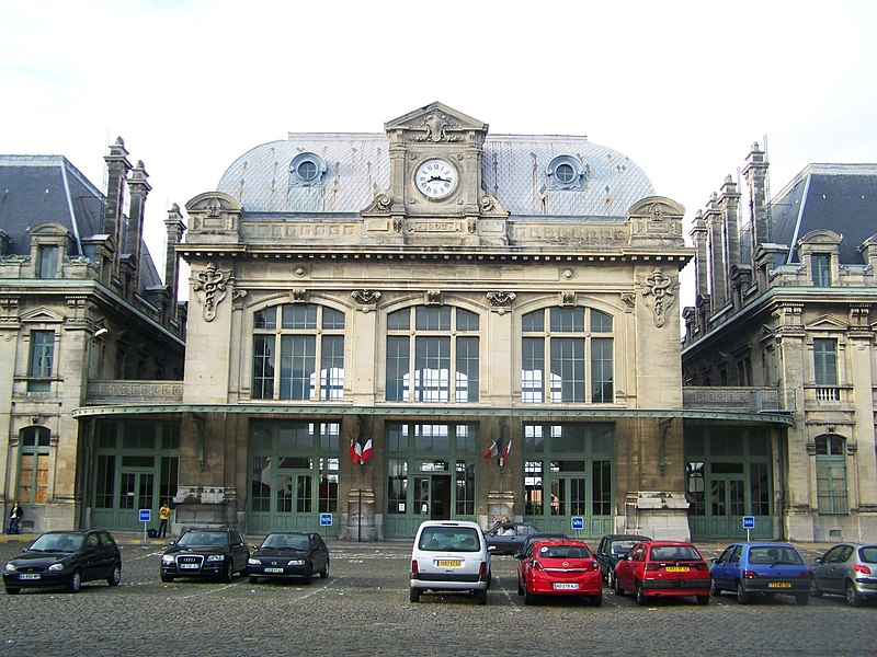 Photo du Monument Historique Gare situé à Saint-Omer