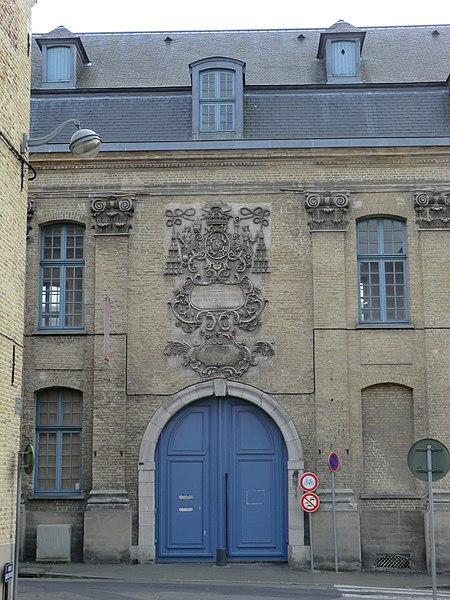 Photo du Monument Historique Hôpital général situé à Saint-Omer