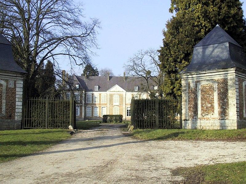 Photo du Monument Historique Château situé à Wamin