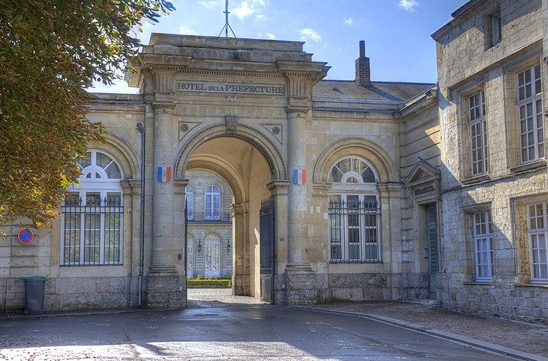 Photo du Monument Historique Préfecture du Pas-de-Calais, ancien palais épiscopal situé à Arras