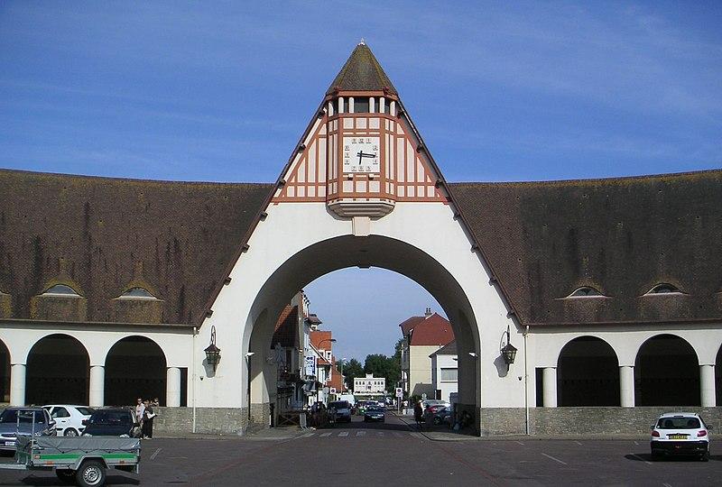 Photo du Monument Historique Marché couvert situé à Le Touquet-Paris-Plage