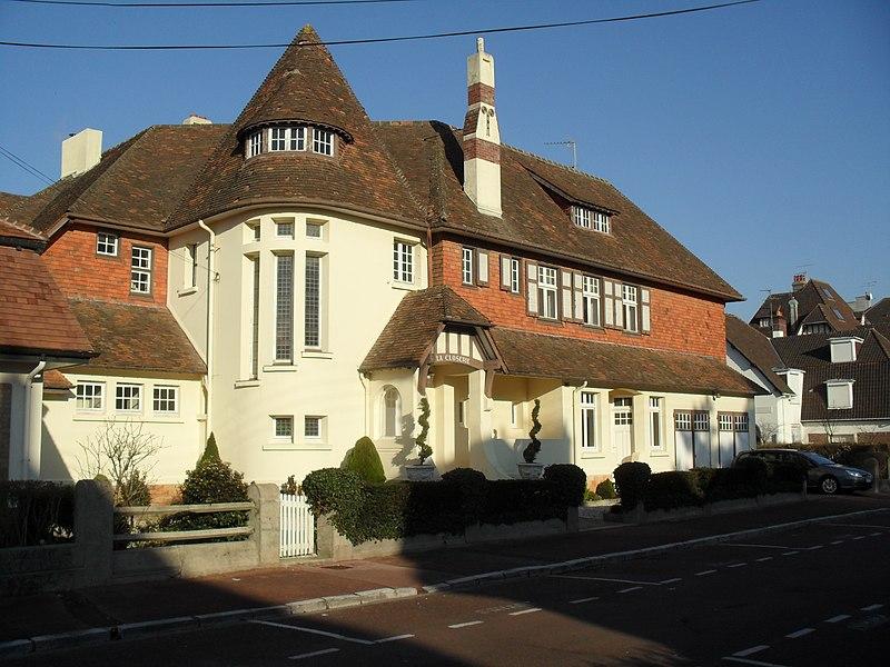 Photo du Monument Historique Villa La Closerie situé à Le Touquet-Paris-Plage