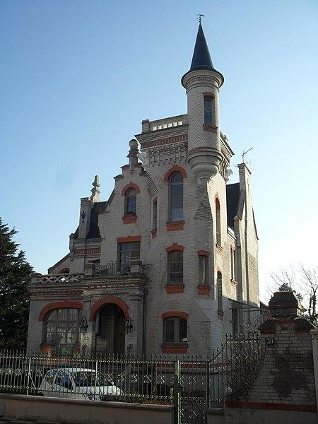 Photo du Monument Historique Villa Le Castel situé à Le Touquet-Paris-Plage