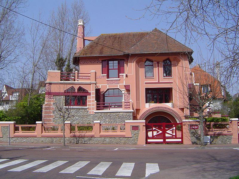Photo du Monument Historique Villa Tata Ice situé à Le Touquet-Paris-Plage