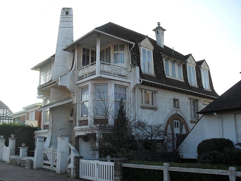 Photo du Monument Historique Villa Karidja situé à Touquet-Paris-Plage (Le)