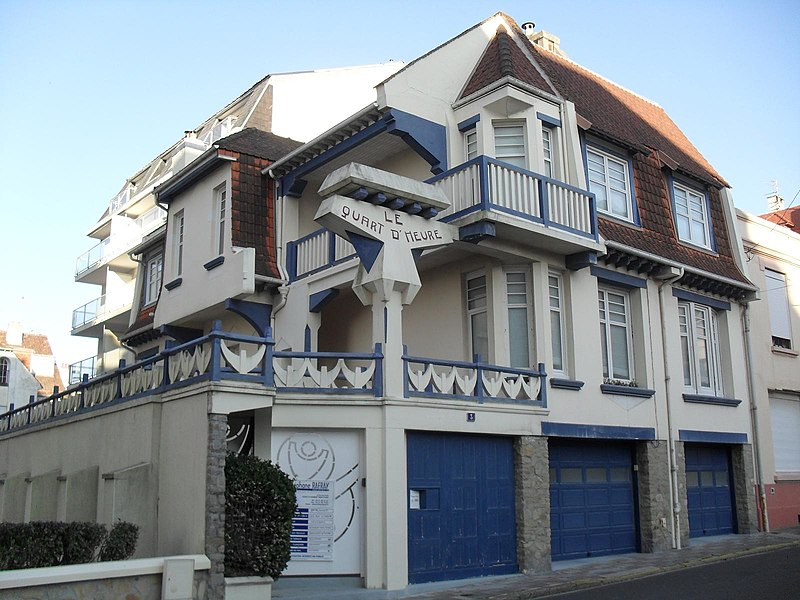 Photo du Monument Historique Villa Le Quart-d'Heure situé à Touquet-Paris-Plage (Le)