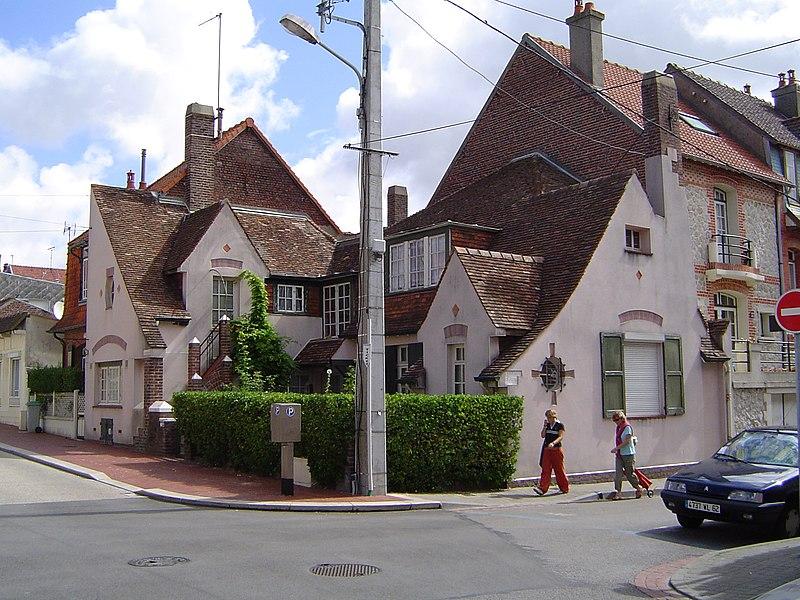 Photo du Monument Historique Villa Pomme d'Api situé à Le Touquet-Paris-Plage