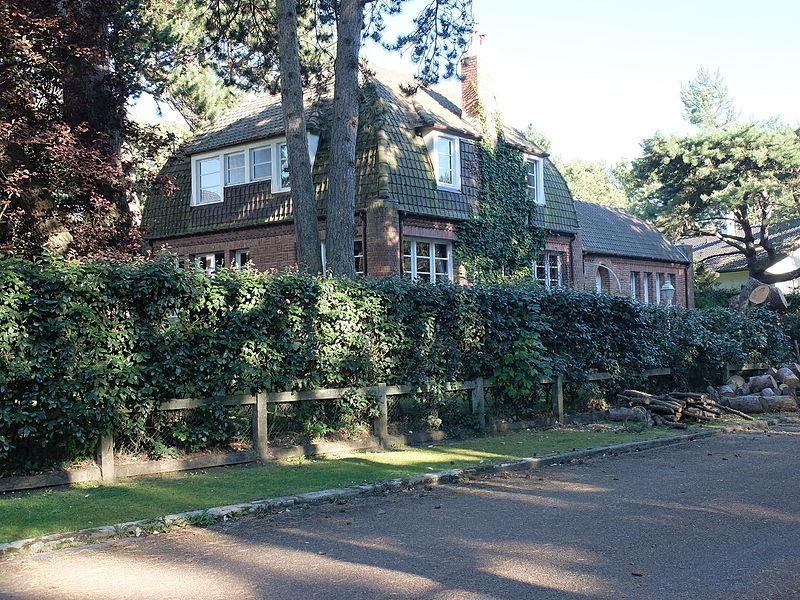 Photo du Monument Historique Villa Pretty Cottage, anciennement Scarabée situé à Le Touquet-Paris-Plage