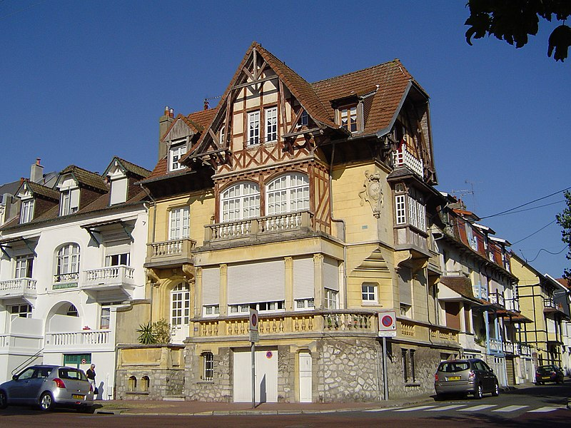 Photo du Monument Historique Villa La Wallonne situé à Touquet-Paris-Plage (Le)