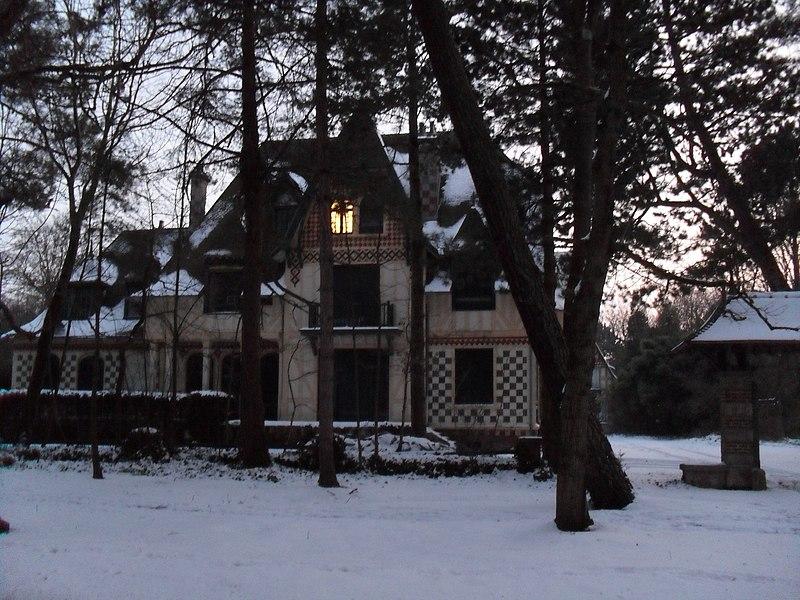 Photo du Monument Historique Villa Nirvana situé à Le Touquet-Paris-Plage