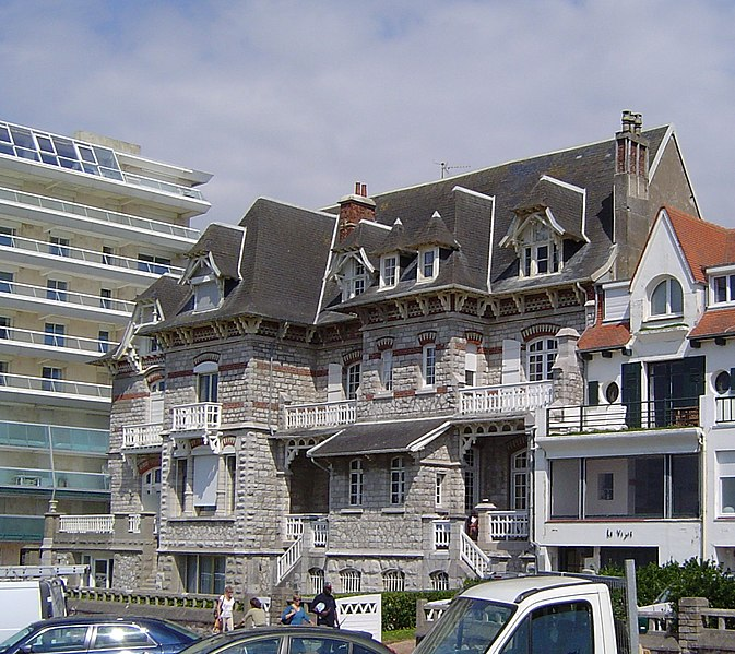 Photo du Monument Historique Villa Saint-Augustin, Thalassa, Phébus et Borée situé à Touquet-Paris-Plage (Le)