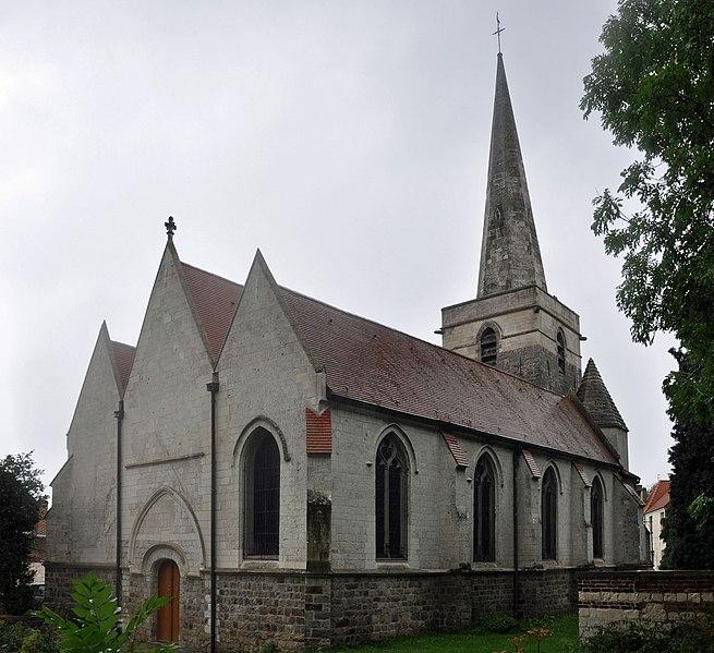 Photo du Monument Historique Eglise Saint-Martin situé à Bruay-la-Buissière
